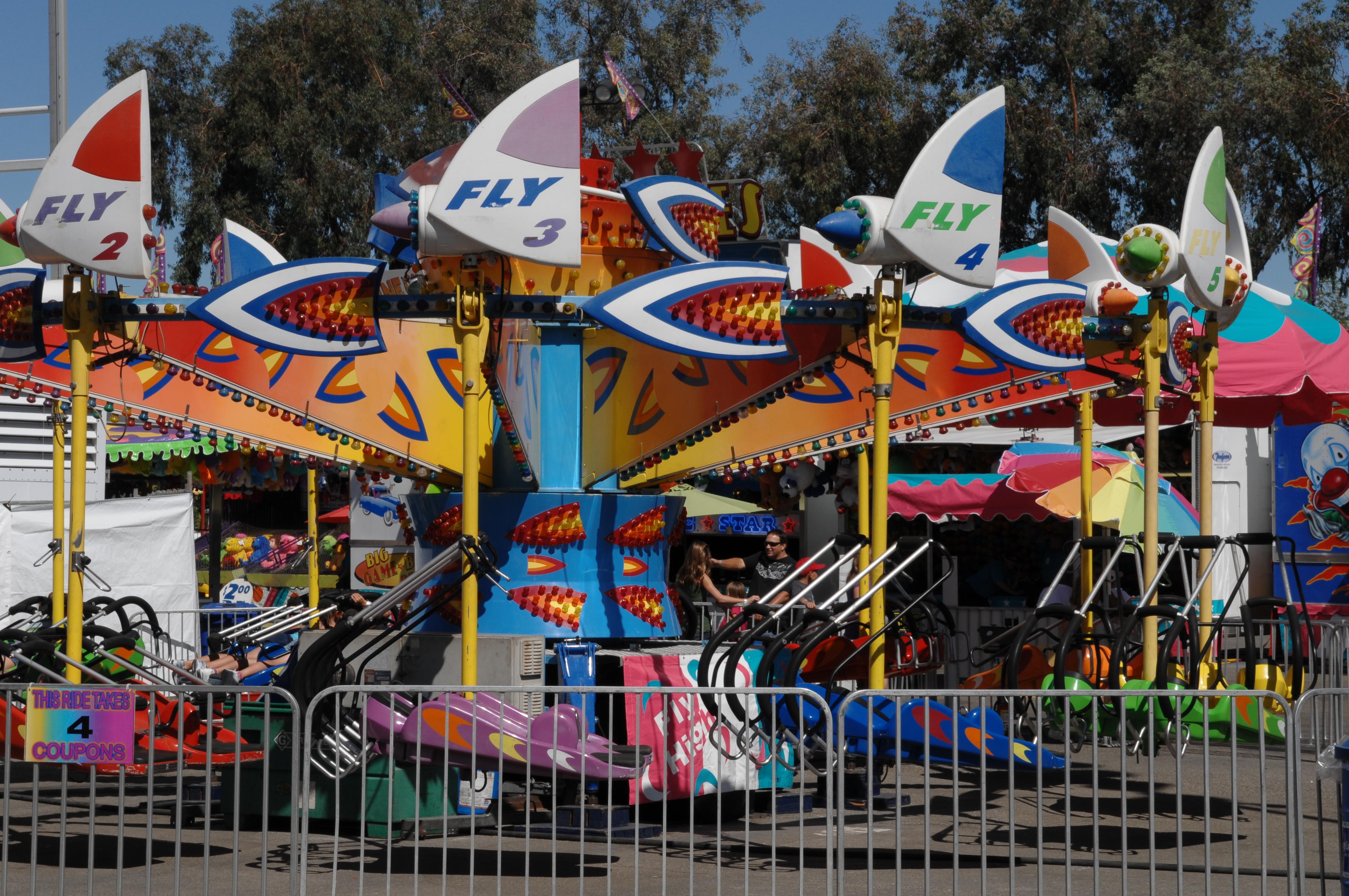 Major Rides Strawberry Festival