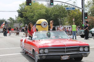 Despicable Me2 in parade