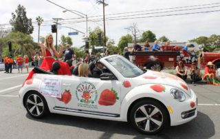 Miss CA in parade