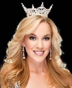 Miss California Leah Cecil