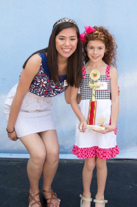 2014 Garden Grove Strawberry Festival Red Head Contest Winner
