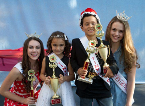 2014 Garden Grove Strawberry Festival Tiny Tots Contest Winners