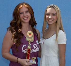 Prettiest - Rachel Reed  (with 2014 Miss Garden Grove Court of Honor Member)