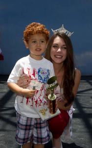 Odie Camarena (with Jessica Tonti, Miss Garden Grove 2014)