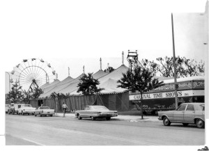 Garden Grove Strawberry Festival grounds in 1960s