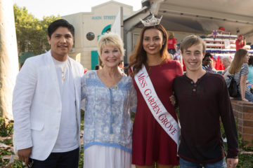 Miss Garden Grove with Dee Wallace, Johnny Ortiz and Jae Head