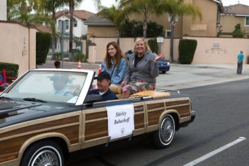 Shirley Babashoff in parade