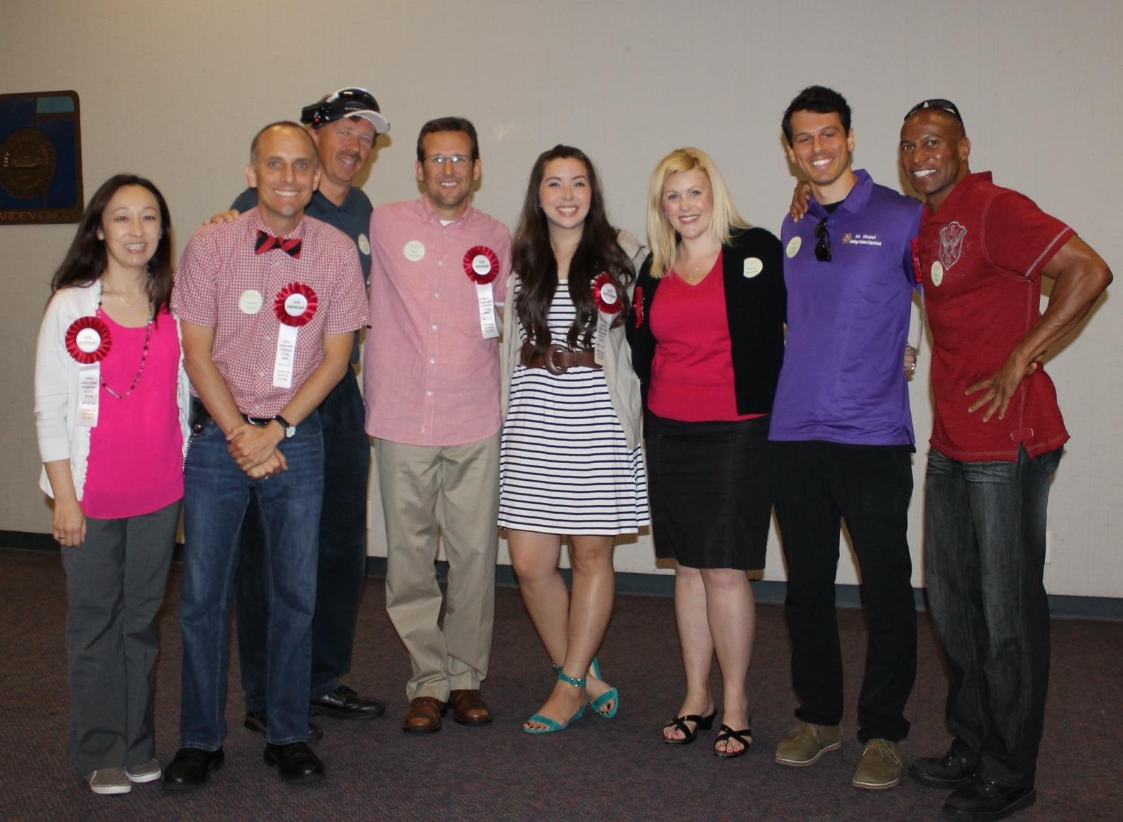 Teachers honored at 2014 Garden Grove Strawberry Festival
