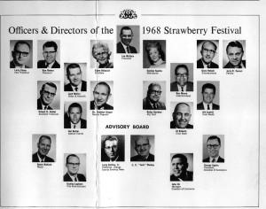 1968 Festival board w/ Wallin