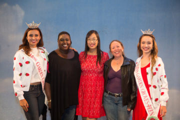 Karaoke winners: 1st Juanita Mankuleiyo. 2nd Miriam Kim. 3rd Deirdre Harp