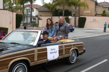 Shirley Babashoff in parade
