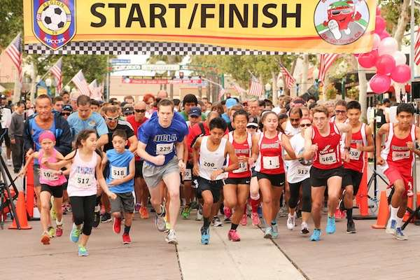 Strawberry Stomp 5k - Garden Grove Strawberry Festival